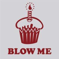 Blow Me Cupcake