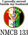 I proudly served beside my husband NMCB 133