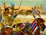 Battle of Kadesh where the ancient Egyptian