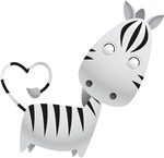 Cute and Cuddly Baby Zebra