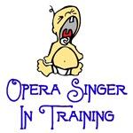 Opera Singer in Training
