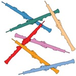 Colorful Oboes