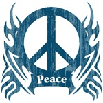 Blue Peace Crest