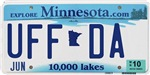 Uffda License Plate Shop