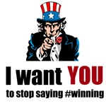 Stop Saying #winning!