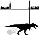 T-rex, oil and gas deposit