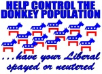 Control The Donkey Population T-shirts & Gifts