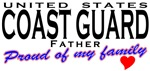Proud United States Coast Guard Dad T-shirts Gifts