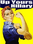 Rosie the Riveter Anti Hillary Clinton T-shirts &