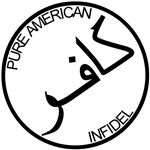 Pure American Infidel (Arabic) T-shirts & Gifts