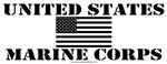 United States Marine Corps Black Design