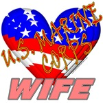 U.S. Marine Corps Wife T-shirts & Gifts