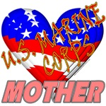 U.S. Marine Corps Mother T-shirts & Gifts
