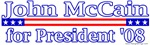 John McCain for President 2008