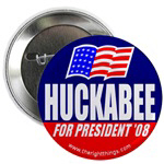 Mike Huckabee For President Buttons & Magnets