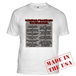 Liberal Commandments Conservative T-shirt Apparel