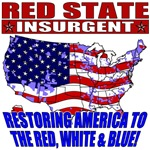 Red State Insurgent T-shirts, Apparel & Gifts
