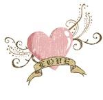 Love / Heart in pink