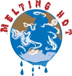 Earth Day : Melting Hot Earth