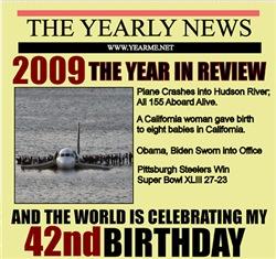 42nd  birthday