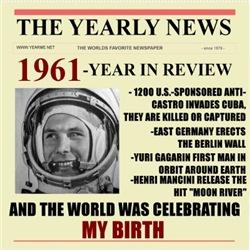 born in 1961 birthday gift