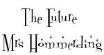 The Future  Mrs Hommerding
