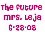 The future  Mrs. Leja 6-28-08