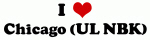 I Love Chicago (UL NBK)