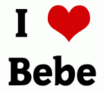 I Love Bebe
