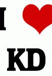 I Love KD
