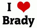 I Love Brady