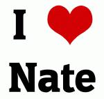 I Love Nate