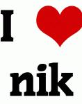 I Love nik