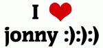 I Love jonny :):):)