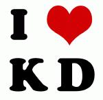 I Love K D
