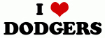 I Love DODGERS