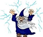 Blue Lightning Wizard