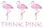Breast Cancer Awareness Flamingo