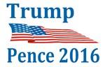 Trump Pence 2016 Flag