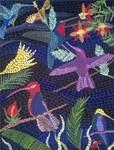 Hummingbird Mosaic