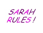 Sarah Rules