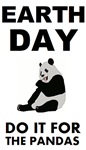 Earth day for the pandas