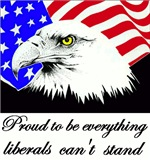 Proud to be everything liberals can't stand