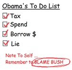 Obama to do list