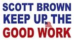 Scott Brown Good Work