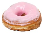 Doughnut Pink Frosted
