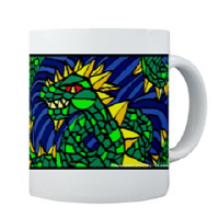 Jormungandr the Midgard Serpent Bright and Bold