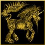 Unicorn Golden Horn
