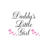 Daddy's Little Girl Pink Hearts