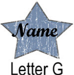 Blue Star names - Letter G